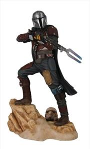Star Wars: The Mandalorian - Mandalorian Mark 1 Statue   Merchandise