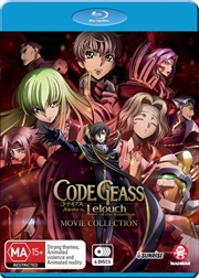 Code Geass - Lelouch Of The Rebellion - Limited Edition | Movie Collection | Blu-ray/DVD