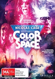 Color Out Of Space | DVD