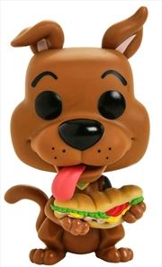 Scooby Doo - Scooby Doo with Sandwich Pop! Vinyl | Pop Vinyl