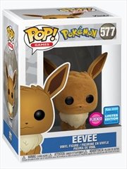 Eevee Flocked | Pop Vinyl