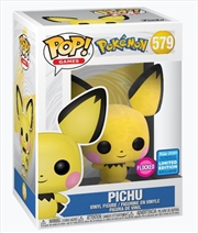Pichu Flocked | Pop Vinyl