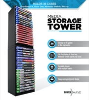 Powerwave Media Storage Tower | Accessories