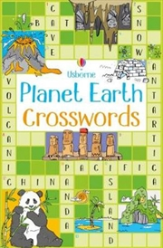 Planet Earth Crosswords | Paperback Book