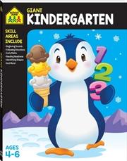 Giant Workbook Kindergarten | Paperback Book