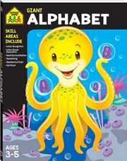 Giant Workbook Alphabet | Paperback Book