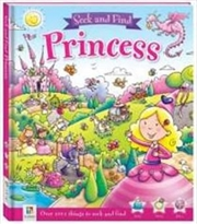 Seek And Find Princess | Hardback Book