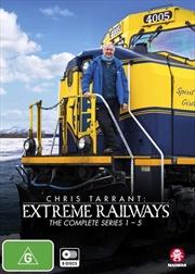 Chris Tarrant's Extreme Railways - Series 1-5   Boxset   DVD