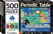 Periodic Table 500-piece Jigsaw Puzzle | Merchandise