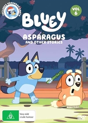 Bluey - Asparagus And Other Stories - Vol 6 | DVD