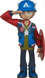 Captain America - Captain America Designer Toy | Merchandise