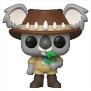 Funko Around the World - Ozzy Koala (Australia) Pop! Vinyl with Pin [RS] | Pop Vinyl