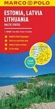 Estonia Latvia Lithuania Map | Sheet Map