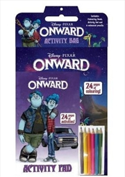 Onward Activity Bag (Disney-Pixar) | Hardback Book