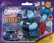 Onward : Giant Activity Pad Disney-Pixar | Hardback Book