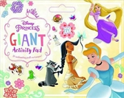Disney Princess Giant Activity Pad | Hardback Book
