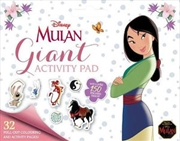 Mulan: Giant Activity Pad | Paperback Book