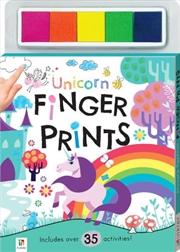 Unicorn Finger Prints Kit Finger Prints Kit | Books