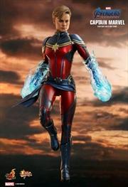"Avengers 4: Endgame - Captain Marvel 1:6 Scale 12"" Action Figure | Merchandise"