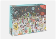 Where's Bowie - In Space 500 Piece Jigsaw Puzzle | Merchandise