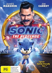Sonic The Hedgehog | DVD