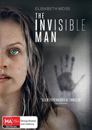 Invisible Man, The   DVD