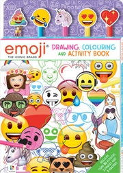 Emoji Drawing, Colouring and Activity Book | Colouring Book