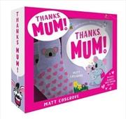 Thanks, Mum! Box Set with Bed Socks | Hardback Book