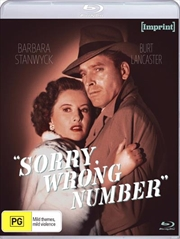 Sorry, Wrong Number - Special Edition | Blu-ray