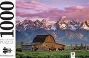Moultan Barn Wyoming USA 1000 Piece Jigsaw Puzzle | Merchandise
