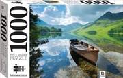 Boat On Lake Buttermere England 1000 Piece Puzzle | Merchandise