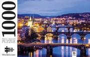 Vitava River Prague 1000 Piece Puzzle | Merchandise