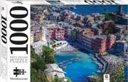 Vernazza Liguria Italy 1000 Piece Jigsaw Puzzle | Merchandise
