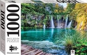 Plitvice Lake Waterfalls Croatia 1000 Piece Puzzle | Merchandise