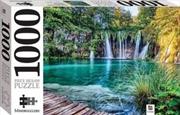 Plitvice Lake Waterfalls Croatia 1000 Piece Puzzle | Merchandise