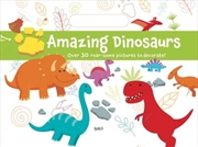 Holiday Fun Pad Dinosaur World | Paperback Book