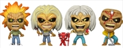 Iron Maiden - Eddie Glow US Exclusive Pop! Vinyl 4-pack [RS] | Pop Vinyl