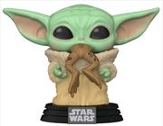 Star Wars: The Mandalorian - The Child with Frog Pop! Vinyl | Pop Vinyl