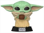 Star Wars: The Mandalorian - The Child with Cup Pop! Vinyl | Pop Vinyl