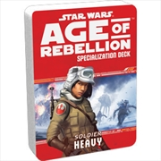 Star Wars Age of Rebellion Heavy Specialization Deck | Merchandise