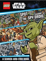 Star Wars: Spot The Spy Droid - LEGO | Hardback Book