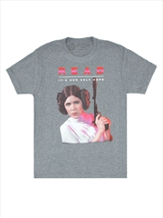 Read Leia Unisex T Shirt Large | Apparel