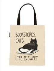 Bookstore Cats Tote   Apparel