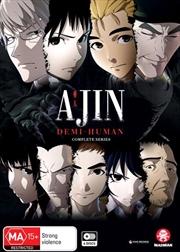 Ajin - Demi-Human - Season 1-2 | Complete Series | DVD