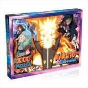 Naruto: Shippuden - 1000 Piece Jigsaw Puzzle | Merchandise