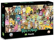 Rick & Morty - Total Rickall 1000 piece Jigsaw Puzzle | Merchandise