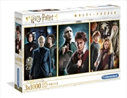 Harry Potter 3 Pack - 1000 Piece Each | Merchandise