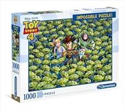 Toy Story 4 Impossible Disney Puzzle 1000 Pieces | Merchandise