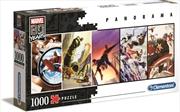 Marvel 80th Anniversary Panorama 1000 Piece Puzzle   Merchandise