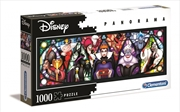 Disney Puzzle Villains Panorama 1000 Pieces Puzzle | Merchandise